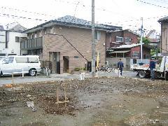 駐車場工事(東京都北区)