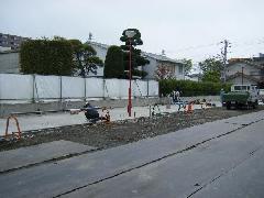 駐車場据付工事(群馬県前橋市)