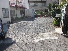 駐車場舗装工事(東京都新宿区)