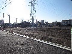 平置き駐車場工事(東京都足立区)