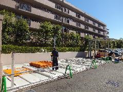 駐車場入替工事(神奈川県磯子区)