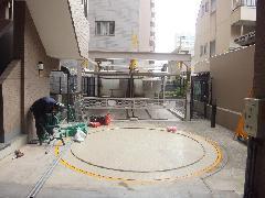 駐車場解体工事(東京都文京区)