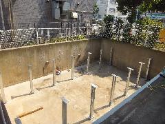 駐車場平面化工事(東京都江戸川区)