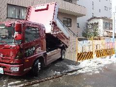 駐車場埋め戻し工事(神奈川県横浜市)