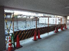 駐車場解体工事(東京都立川市)
