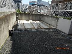 駐車場解体工事(東京都新宿区)
