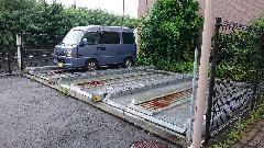 駐車場解体工事(東京都府中市)