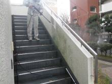 ビル共用部の清掃
