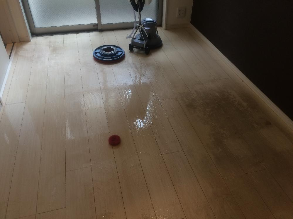 名古屋にあるマンションの清掃