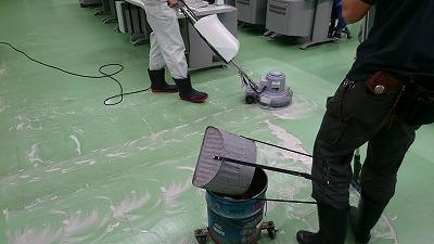 事務所の定期清掃