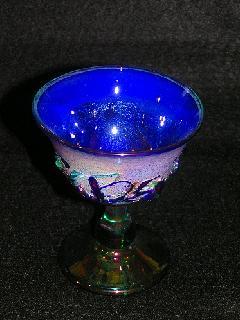 《望洋》 酒盃 ブルー