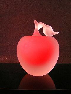 ガラスの 「林檎」