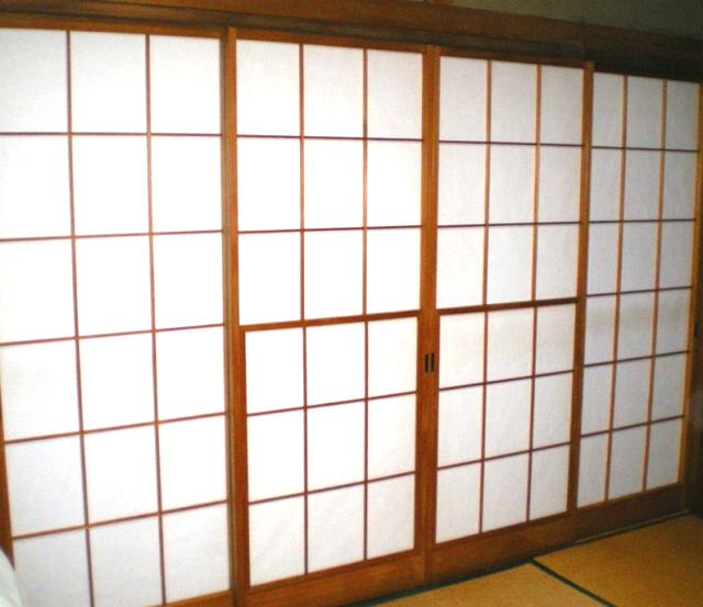 中野区弥生町 障子の張替え タフ・トップ 石井表具店