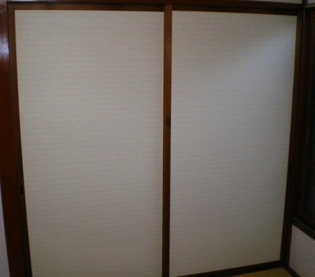 新宿区北新宿 一般住宅ふすま張替え工事
