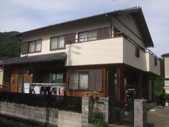 戸建住宅 外壁塗装(犬山市)施工後