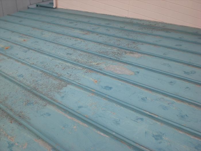 トタン屋根 塗装工事 (犬山市)施工前