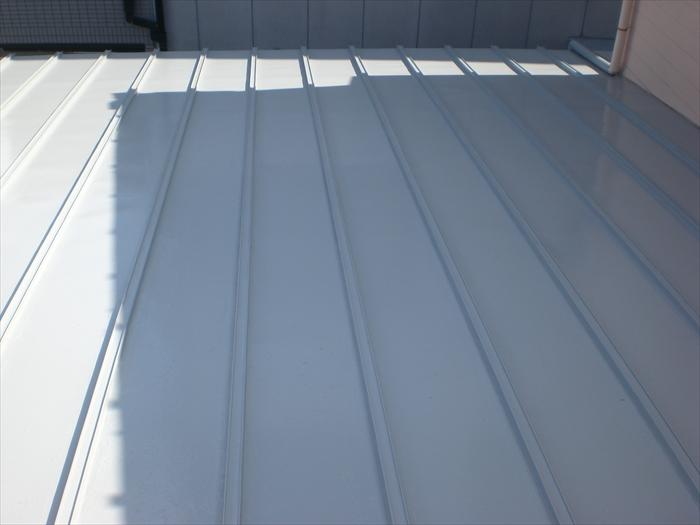 トタン屋根 塗装工事 (犬山市)施工後