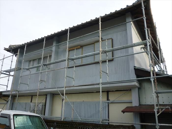 戸建住宅 外壁塗装(犬山市)下塗り-完了
