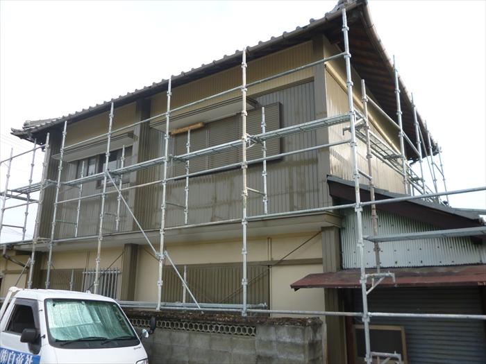 戸建住宅 外壁塗装(犬山市)上塗り-完了