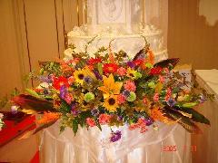 ケーキ装花(1)