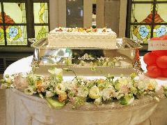 ケーキ装花(2)