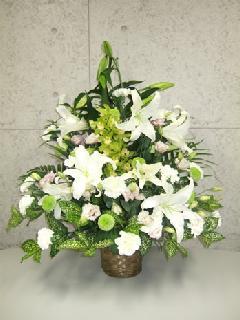 お供花 (篭花) H-023