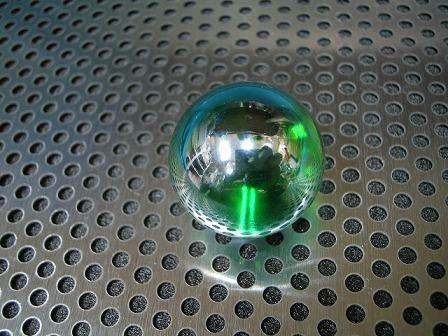 オーロラ(グリーン)」25mm