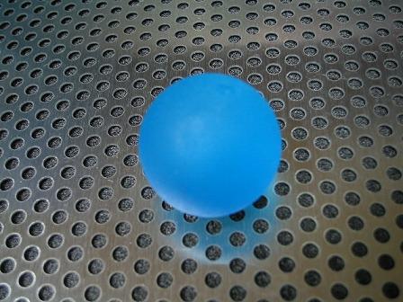 ビー玉・ガラス玉「フロスト(ブルー)」25mm