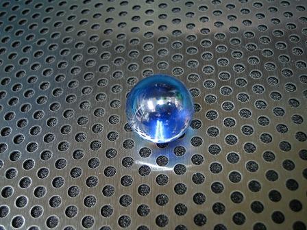 ビー玉・ガラス玉「オーロラ(コバルト)」17mm
