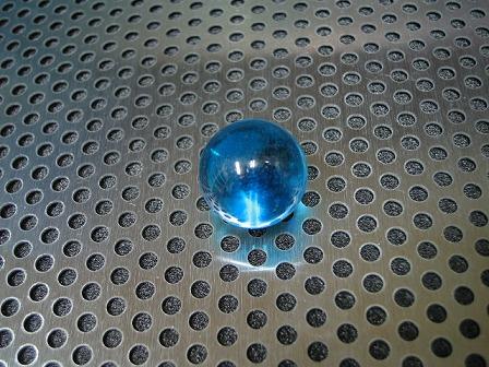 ビー玉・ガラス玉クリアカラー(ブルー)」17mm
