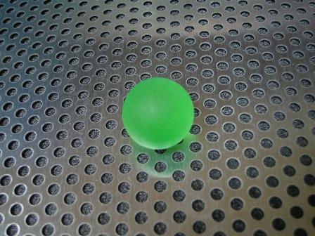 ビー玉・ガラス玉フロスト(グリーン)」17mm