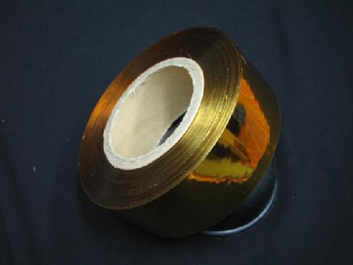 イベント用メッキテープ       5cm幅・200M巻き粘着なし(金色)