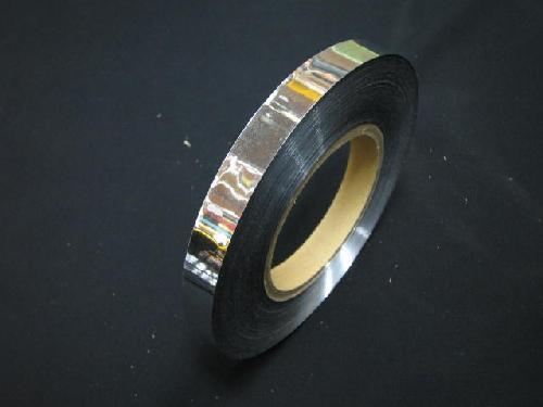 イベント用メッキテープ 1,5cm幅200M巻き粘着なし(銀色)