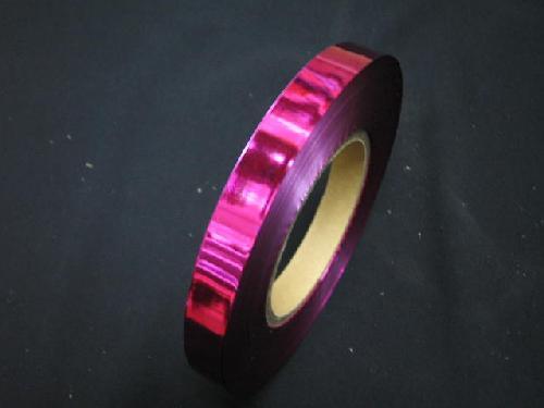 イベント用メッキテープ 1,5cm幅200M巻き粘着なし(ピンク色)