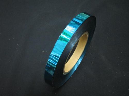 イベント用メッキテープ 1,5cm幅200M巻き粘着なし(青色)