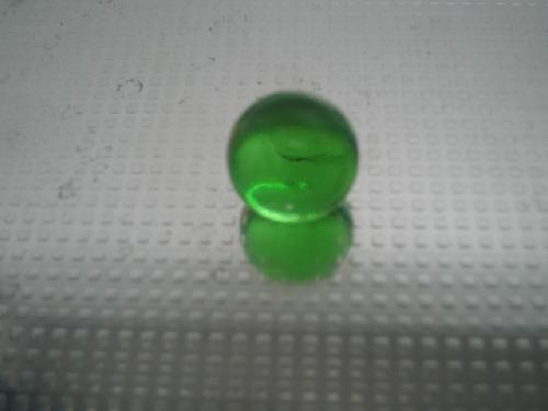 ビー玉・ガラス玉クリアカラー(グリーン)15mm