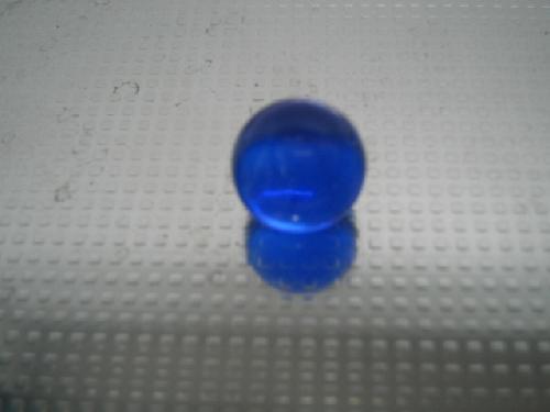 ビー玉・ガラス玉クリアカラー(コバルト)15mm