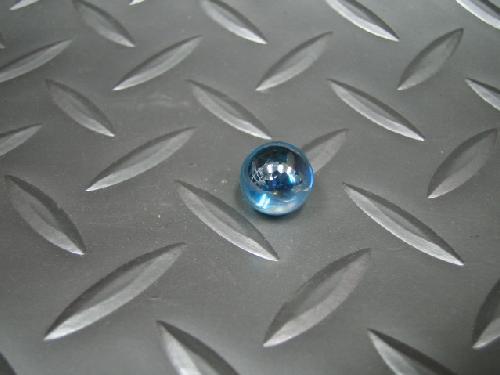 ビー玉・ガラス玉オーロラ(ブルー)12,5mm