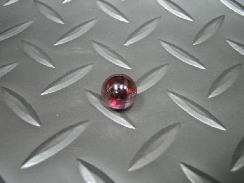 ビー玉・ガラス玉オーロラ(レッド)12,5mm