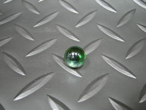 ビー玉・ガラス玉オーロラ(グリーン)12,5mm