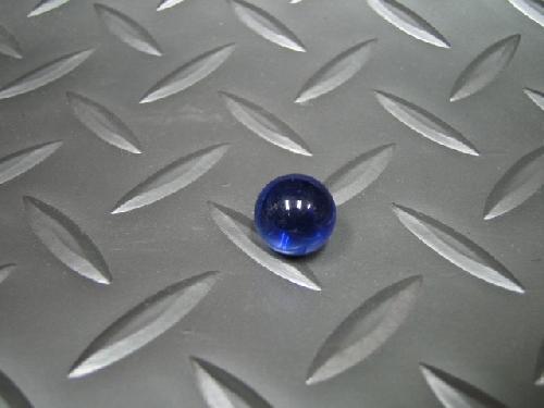 ビー玉・ガラス玉クリアカラー(コバルト)12,5mm