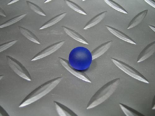 ビー玉・ガラス玉フロスト(コバルト)12,5mm
