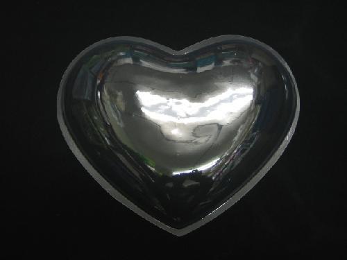 透明ハート  (30cm)皿状