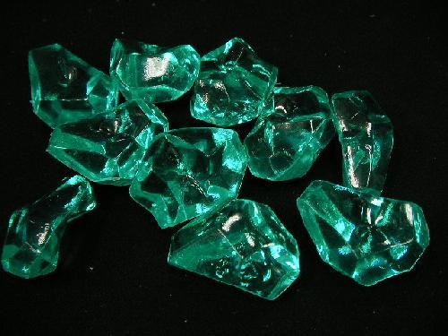 アクリルアイス・ディスプレイアイス・イミテーションアイス・透明石(L)エメラルドグリーン250g
