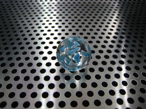 ビー玉・ガラス玉水玉(ブルー)17mmΦ
