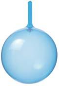 13cmクリアバルーン(ブルー)