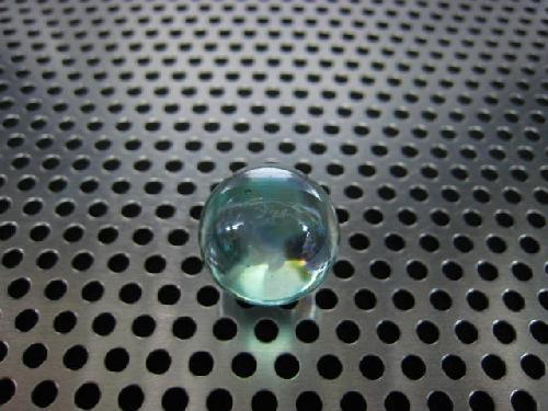 ビー玉・ガラス玉オーロラ(エメラルドグリーン)17mm