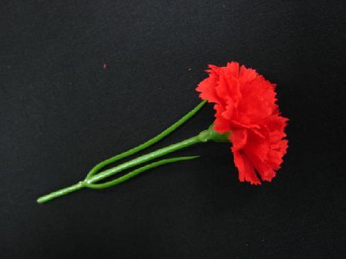 卸販売・母の日用造花カーネーション(ミニ・レッド)120本FLP606