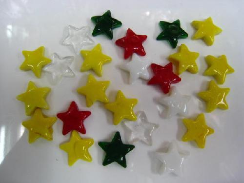 ミニスターチップ(アソート24個入り・ガラス製)