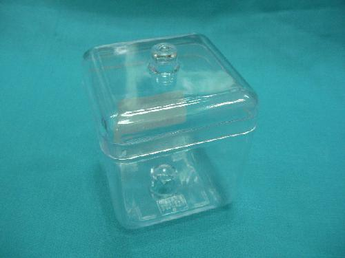 透明ケース(70角ポット・h9.5cm)キドワキ製